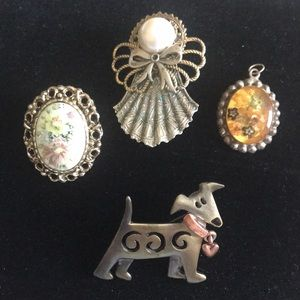 Three Pins and One Charm